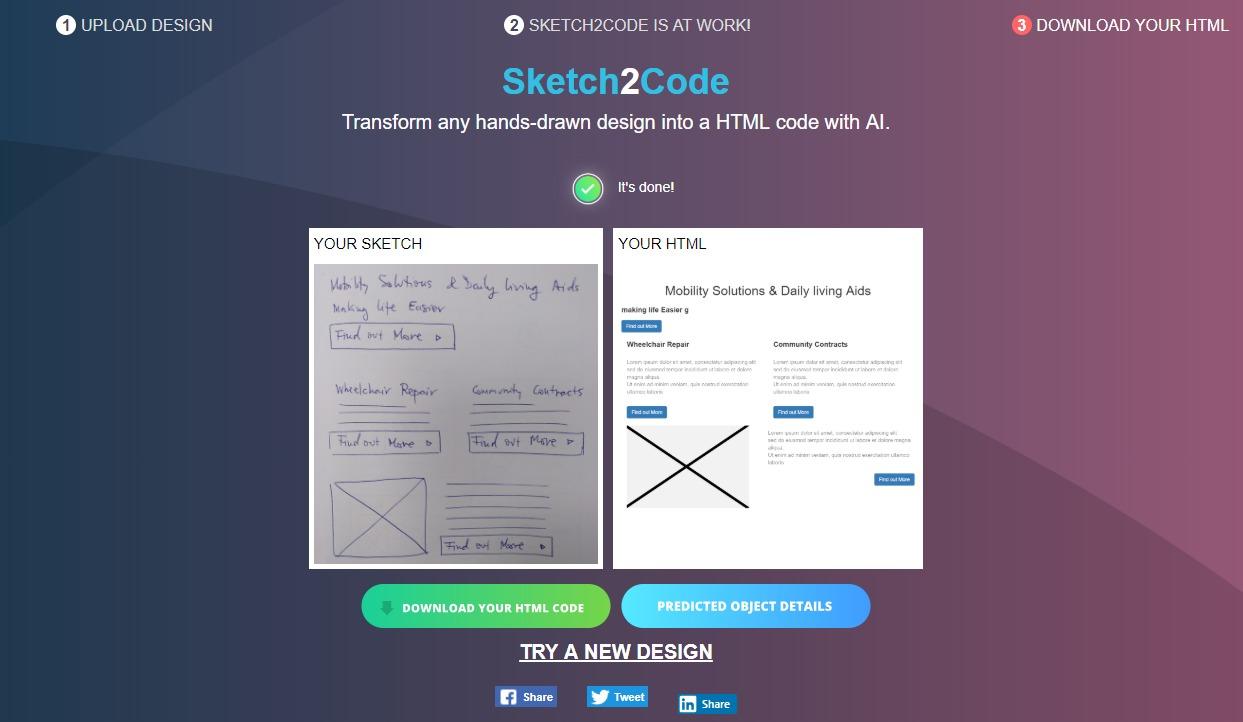 Sketch2Code 1