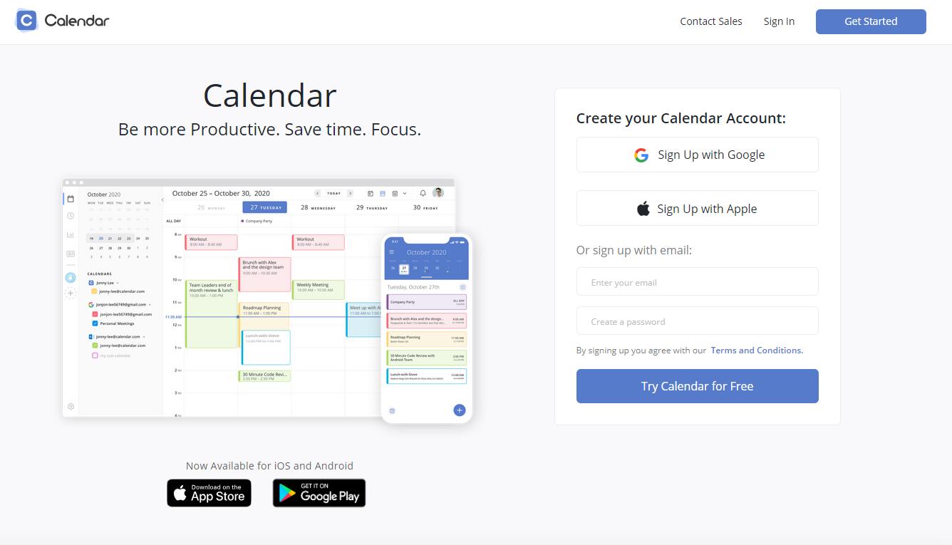 Calendar.com(カレンダー) 1