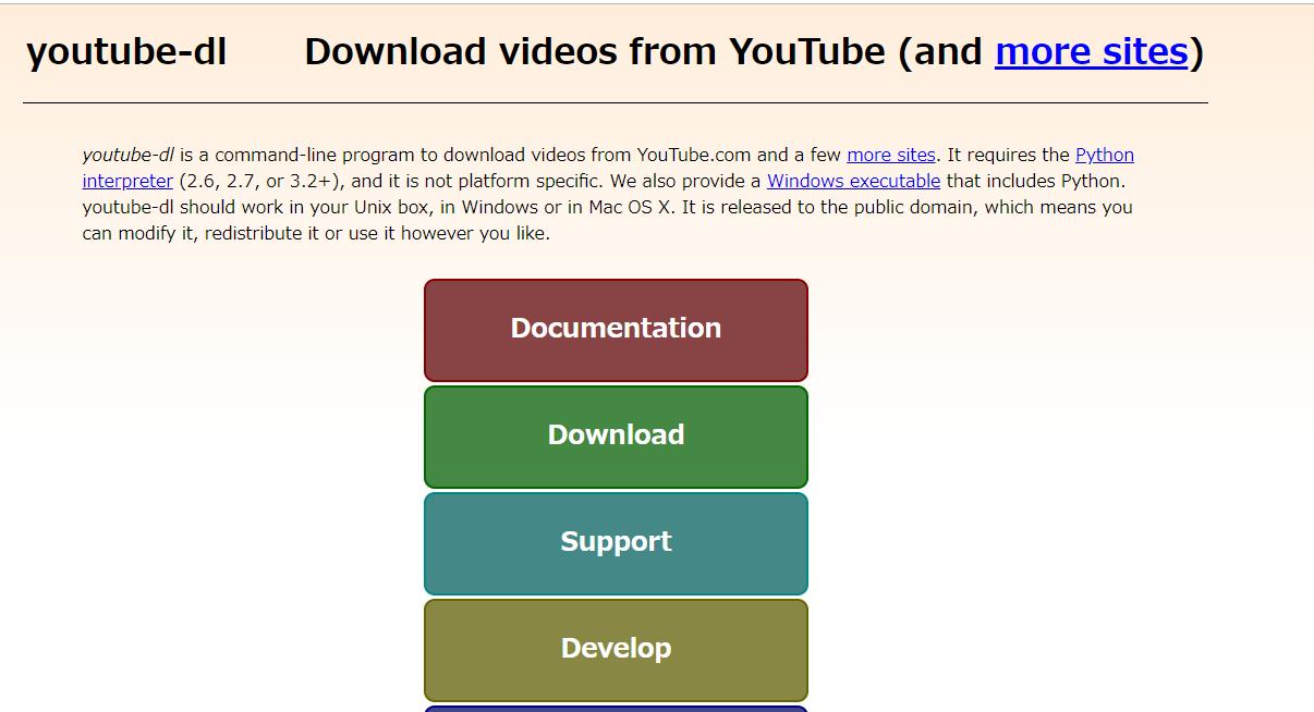 youtube-dl 1