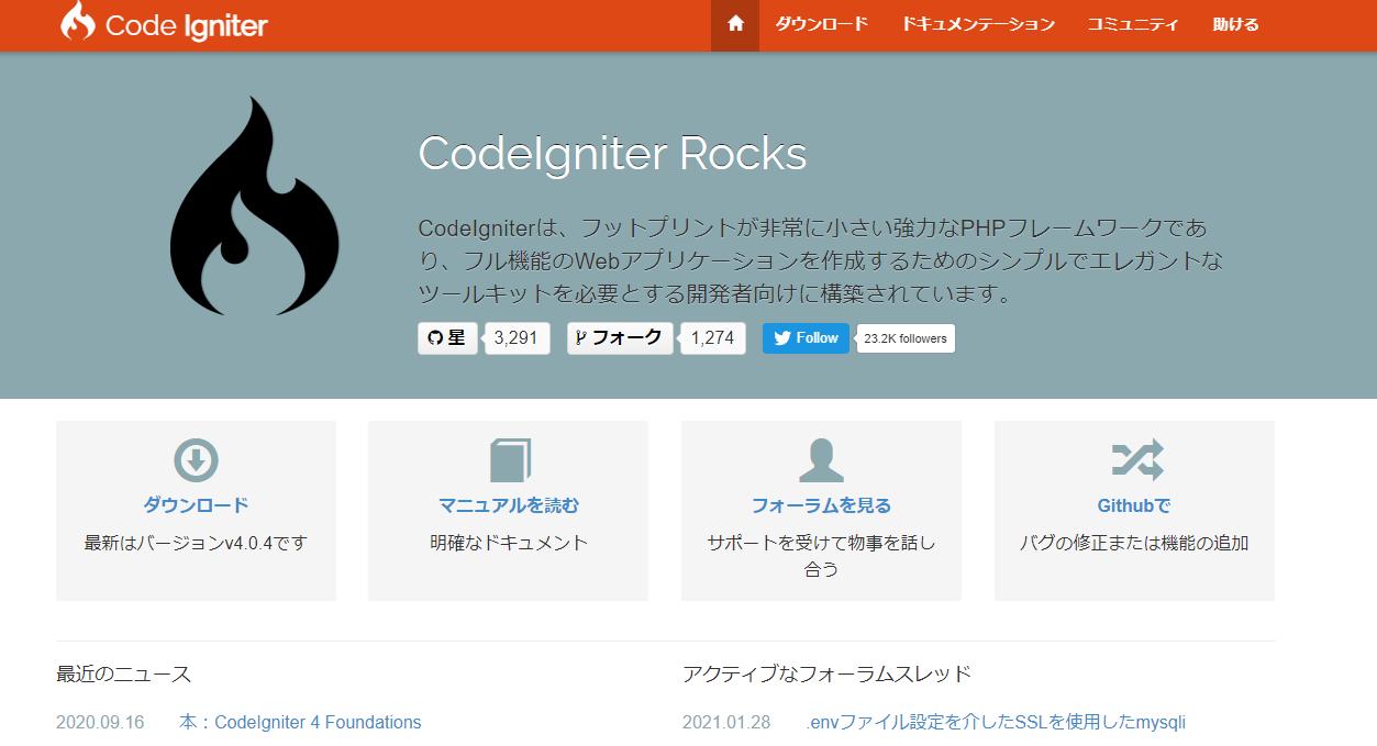 CodeIgniter 1