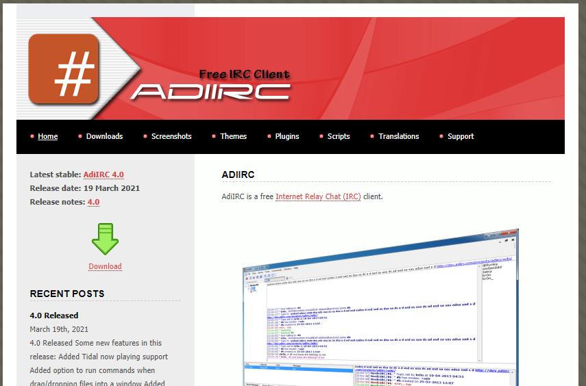 AdiIRC 1
