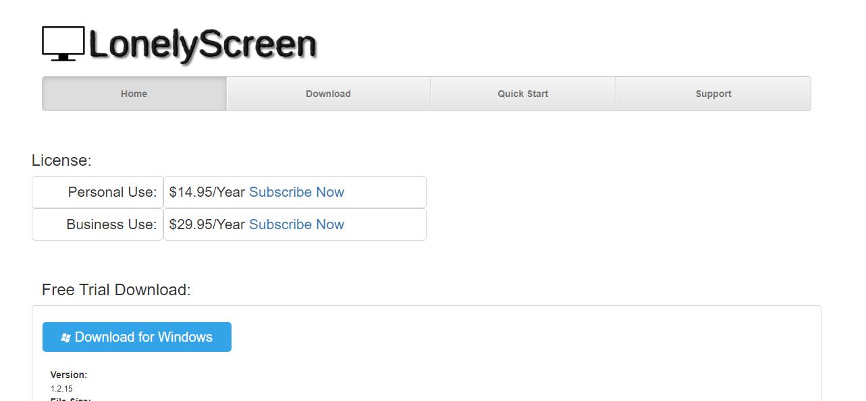 LonelyScreen 1