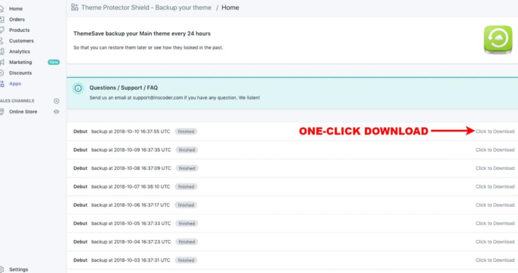 【7選比較】Shopifyのバックアップ用アプリまとめ 12